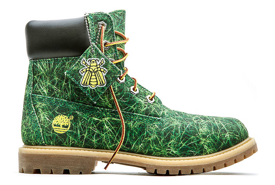 White Timberlands Show Shoes