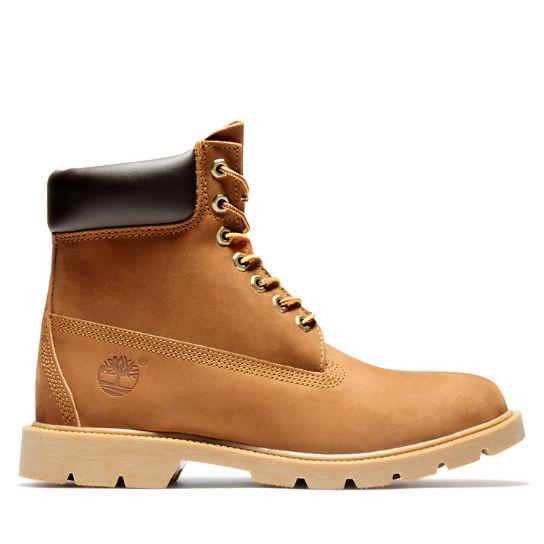 Men S 6 Inch Basic Waterproof Boots W Padded Collar