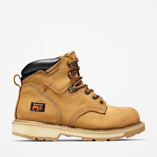 Mens Timberland PRO Pit Boss 6 Steel Toe Work Boots