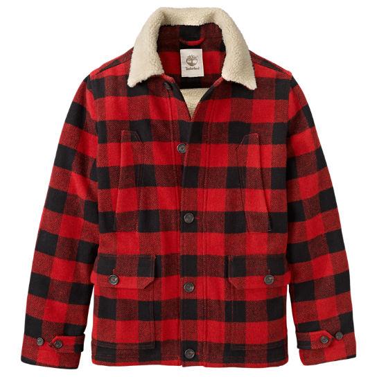 Men S Mt Hayes Buffalo Plaid Jacket Timberland Us Store