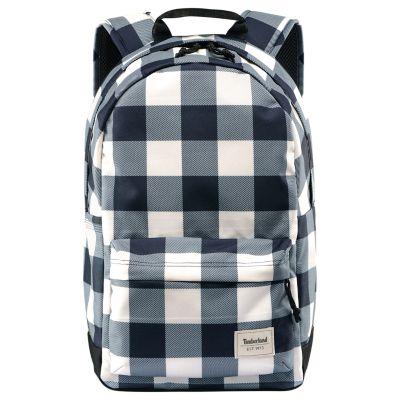 Crofton 22-Liter Water-Resistant Plaid Backpack