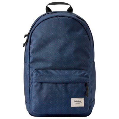 Crofton 22-Liter Water-Resistant Polka Dot Backpack