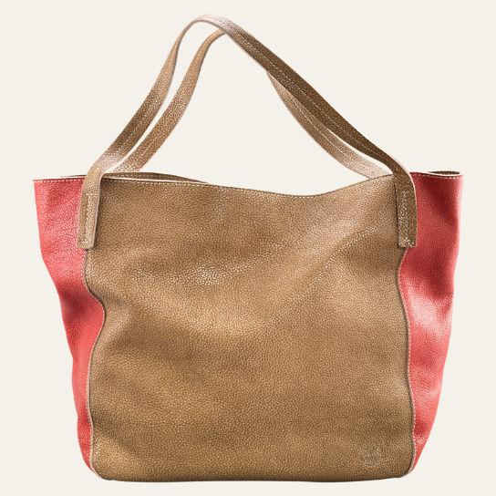 Timberland Brown Leather Shoulder Bag 81