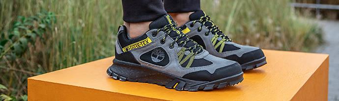 Man wearing Timberland Sneakers