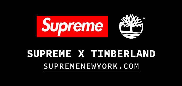 Supreme X Timberland Collabs