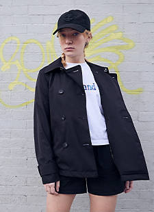 Woman in Timberland Apparel
