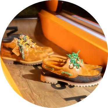 Timberland X Bape Shoes