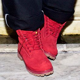 Red Release Boots