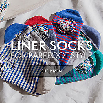 Liner Socks For Barefoot Style. Shop Men.