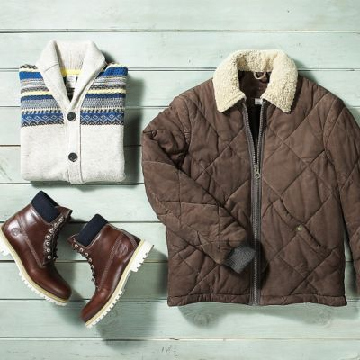 Men's Holiday Collection: 3 Coldproof Looks
