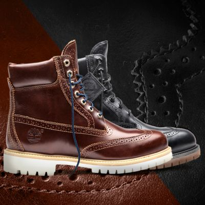 Horror Historiador Infidelidad  Timberland   Limited Release Black Quartz Brogue: Passion on the Modern  Trail