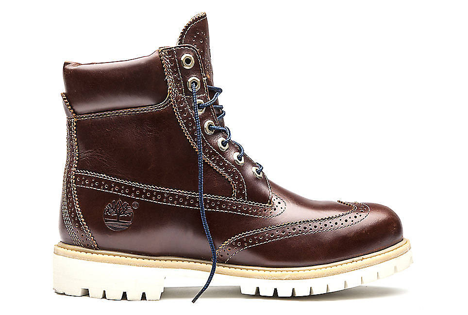 "Icon 6"" Waterproof Brogue Boot"
