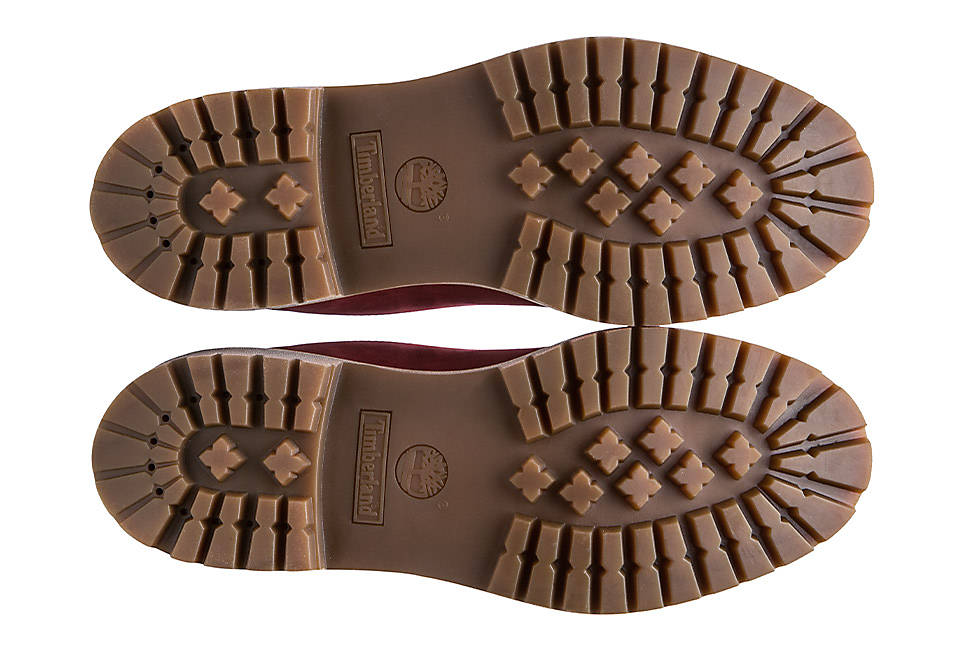 Durable rubber lug outsole for traction and durability