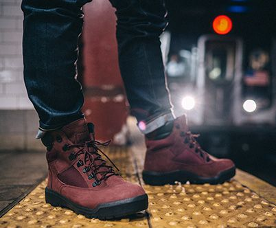 2d9134633 ... Timberland raises the bar in the Fall 2016 Field Boot collection,  offering 100% waterproofing technology across all Men's styles as well as  adding ...