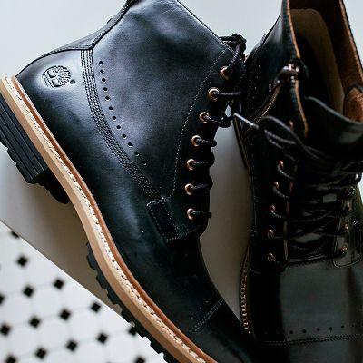 Revenia De Cuero Oxford Zapatos De Hombre Timberland - Marrón BRYZMgdC