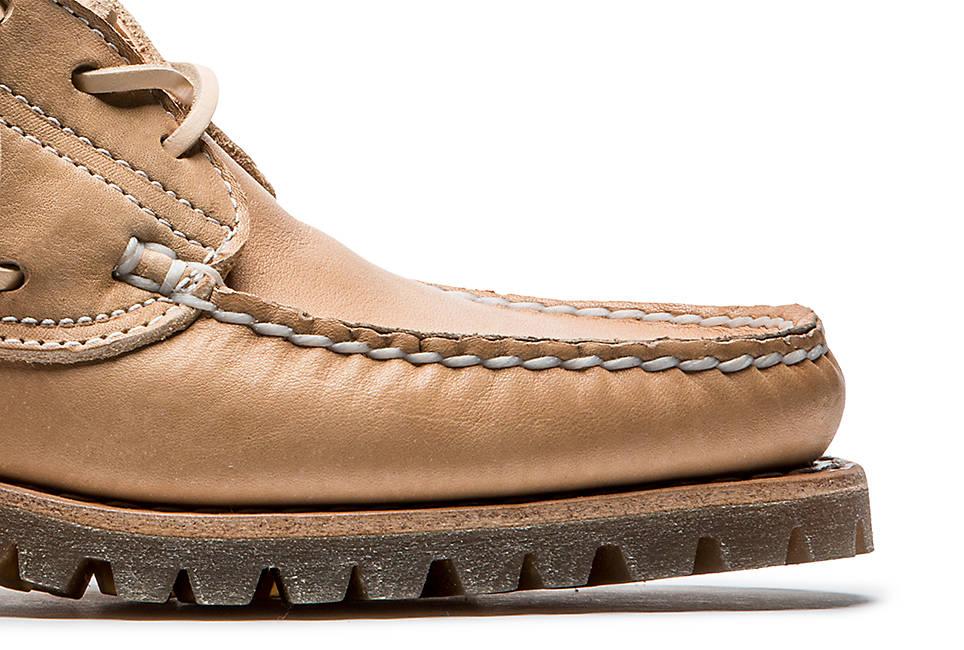Genuine leather welt