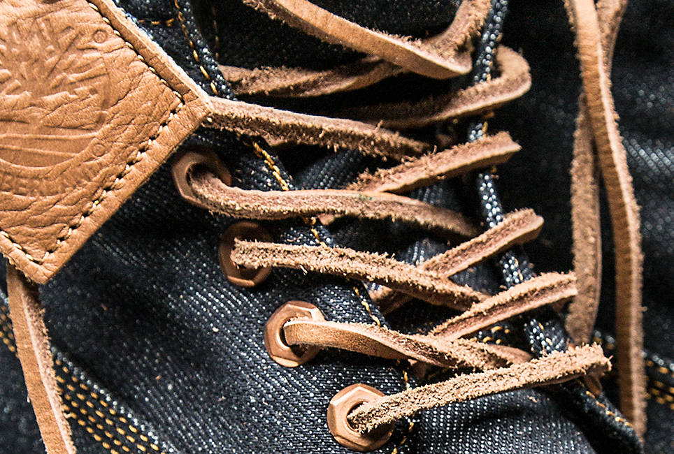 Durable, authentic rawhide laces