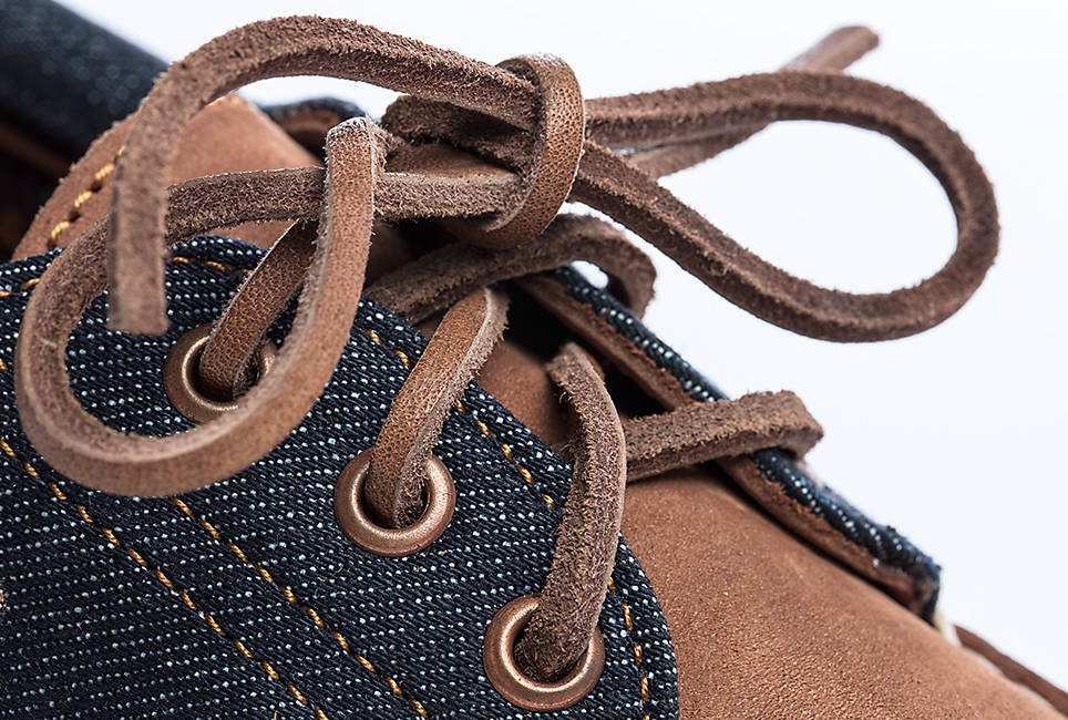 Quality hand sewn construction and  Durable leather laces for long-lasting wear
