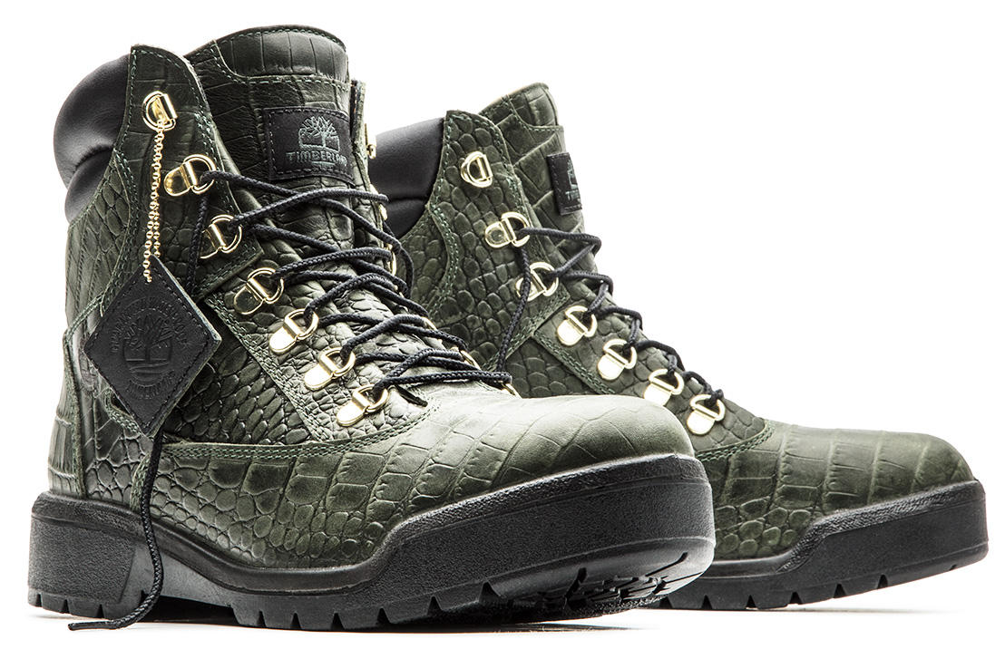 Limited Release Crocodylian 6 Inch Field Boots Timberland