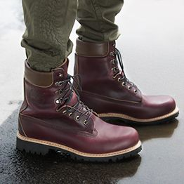 Made in the USA 8-Inch Premium Waterproof Boots