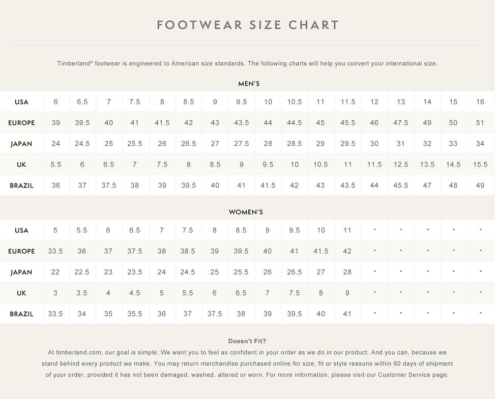 Women S Shoe Size Coversion To Girls