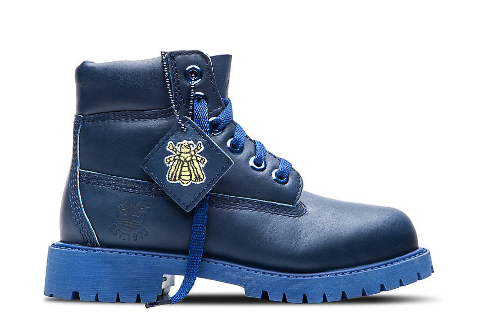 "Kids' 6"" Blue Boot"