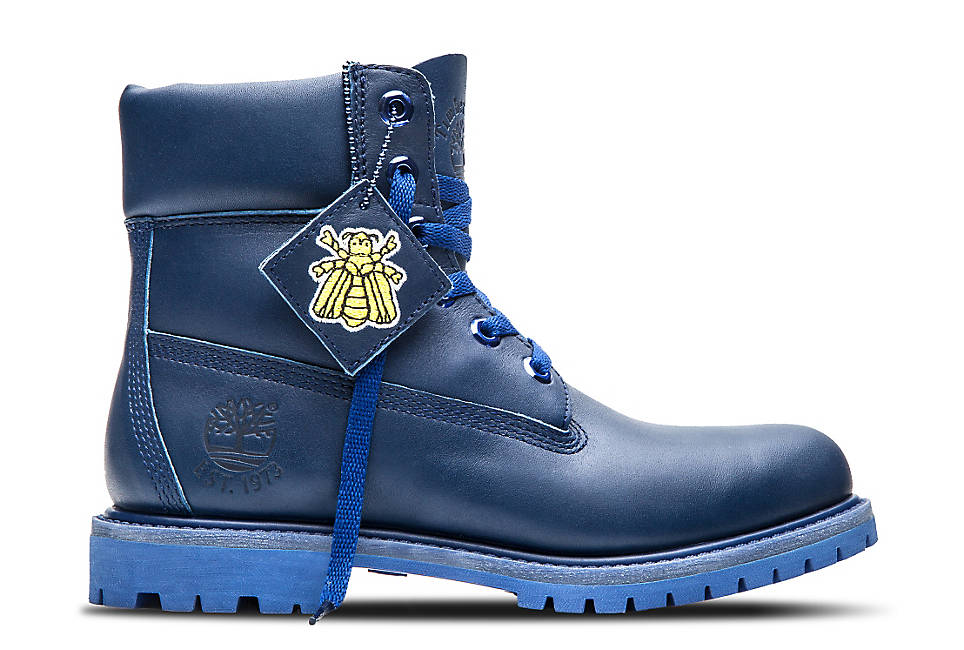 "Women's 6"" Blue Boot"