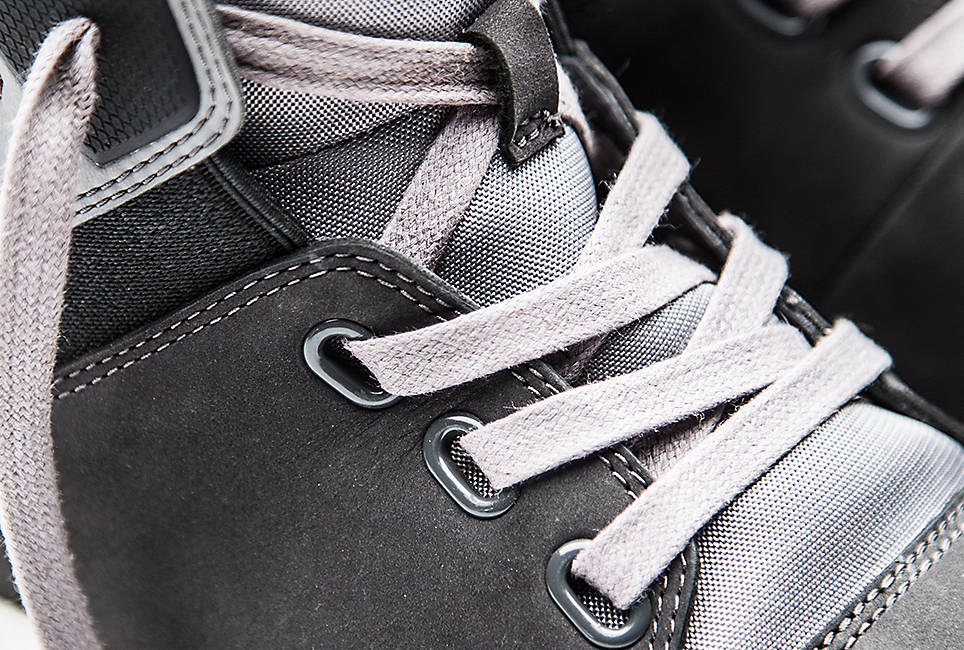 Laces made with 50 percent recycled polyester and Linings made with 50 percent recycled PET