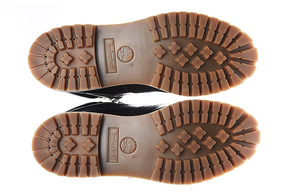 Green Rubber™ sole made from 42% recycled rubber