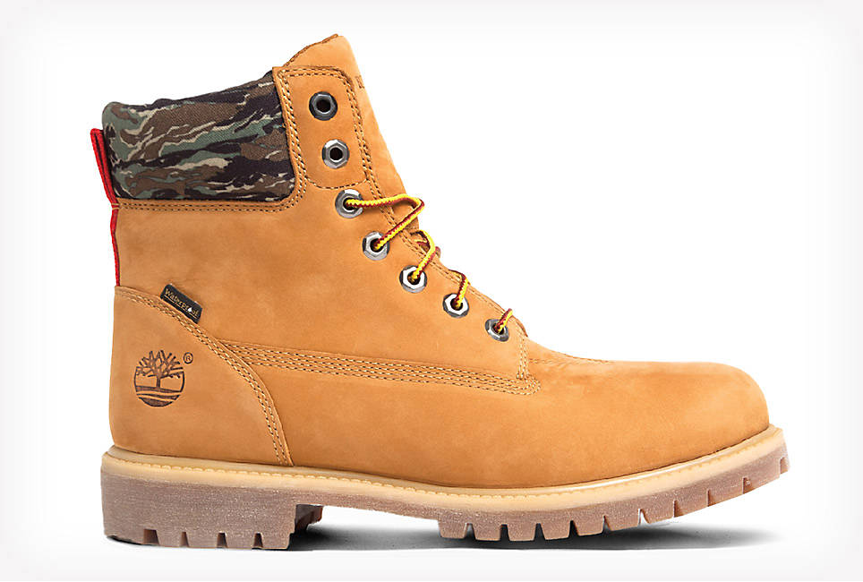 Wheat Nubuck Work Boot