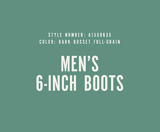 Men's 6-Inch Boots