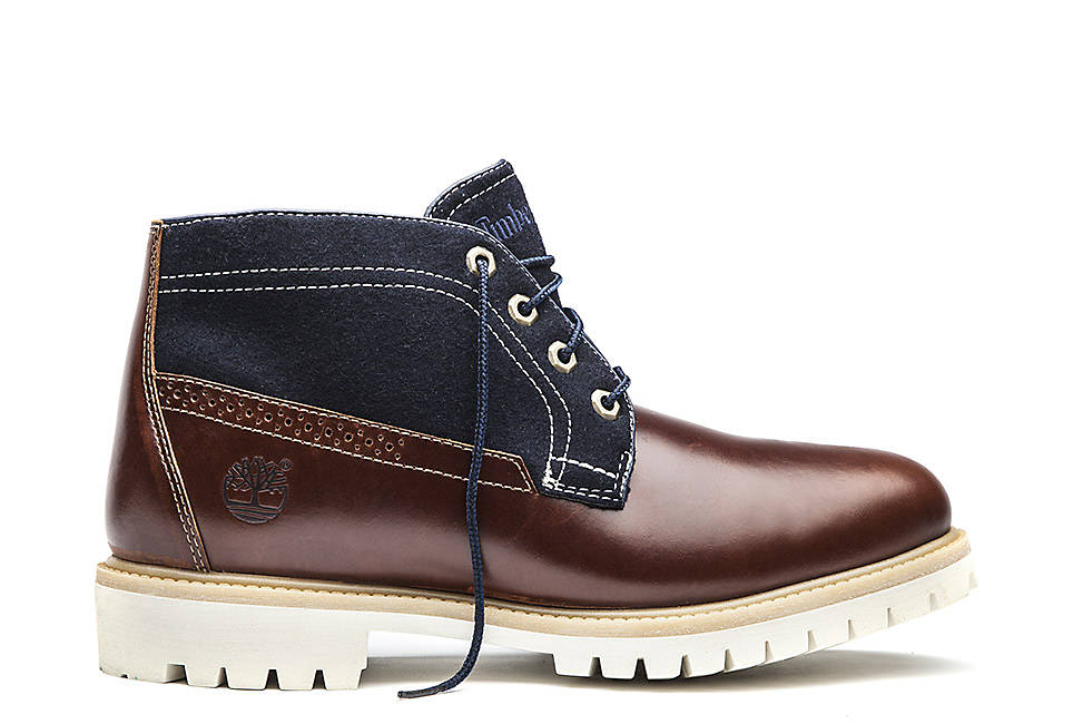 Icon Leather Fabric Chukka