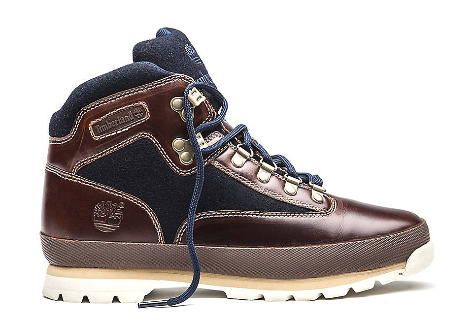Euro Hiker Mid Fabric and Leather