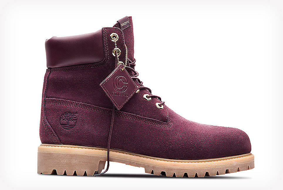 Timberland Limited Release Concepts Collaboration