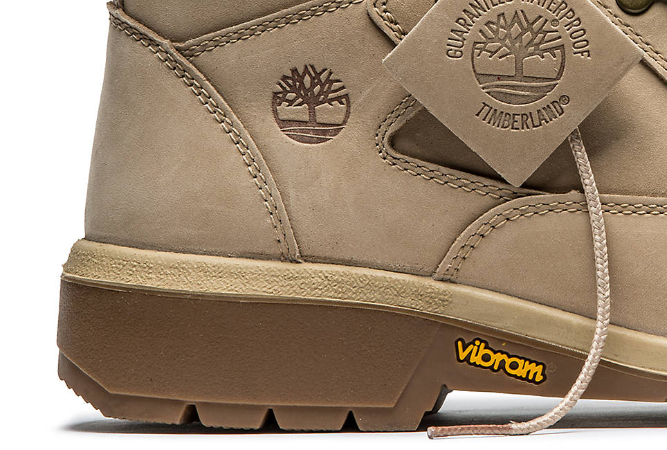Vibram rubber outsoles for traction