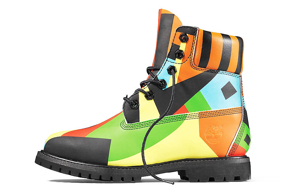 Multicolored Boot