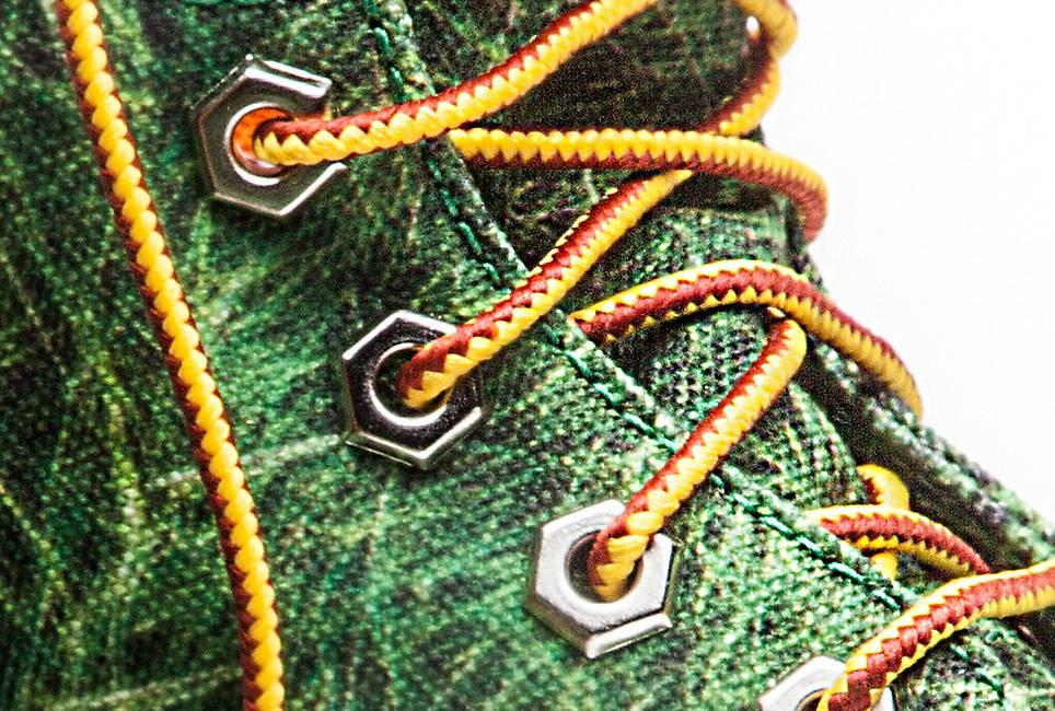 100% recycled PET laces