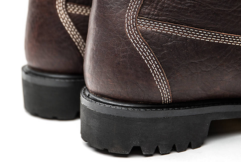 Waterproof, seam-sealed construction keeps feet dry in any weather