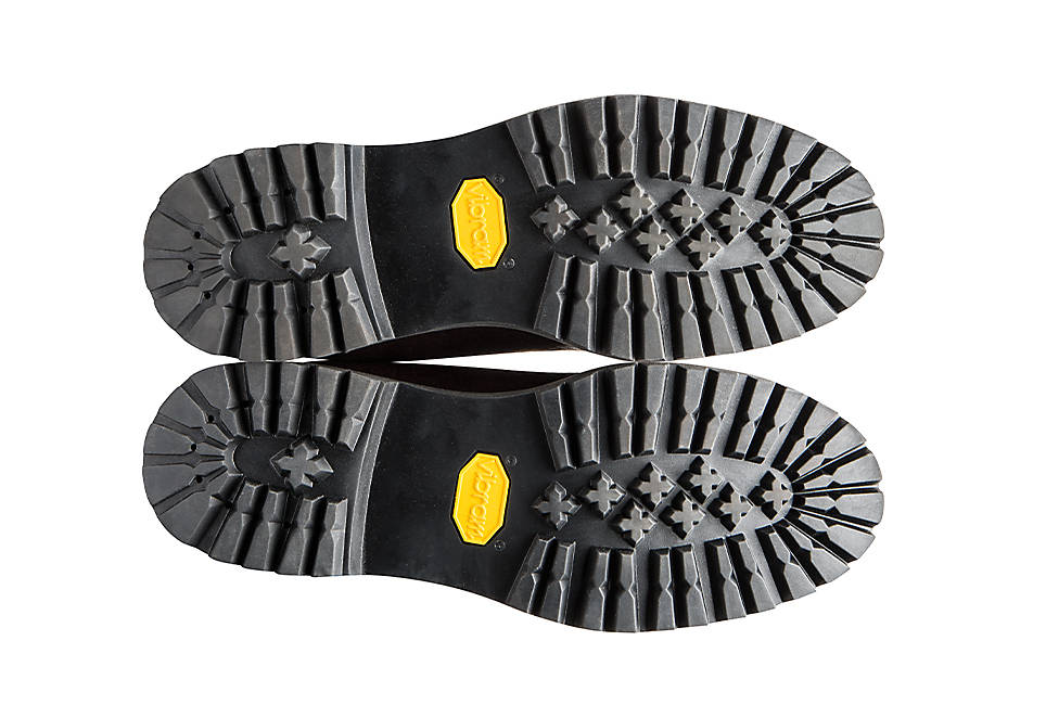 Vibram® EcoStep® sole made with 30 percent recycled rubber