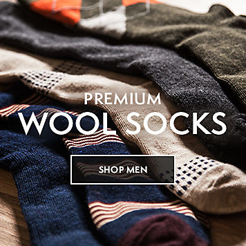 Premium Wool Socks Shop Men