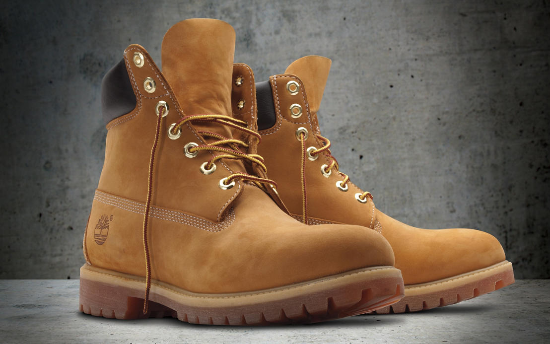 what are timberland boots made of