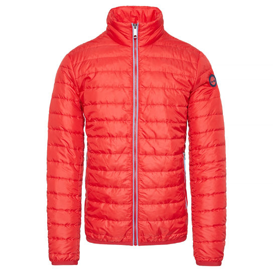 Men's Lightweight Quilted Jacket Red | Timberland