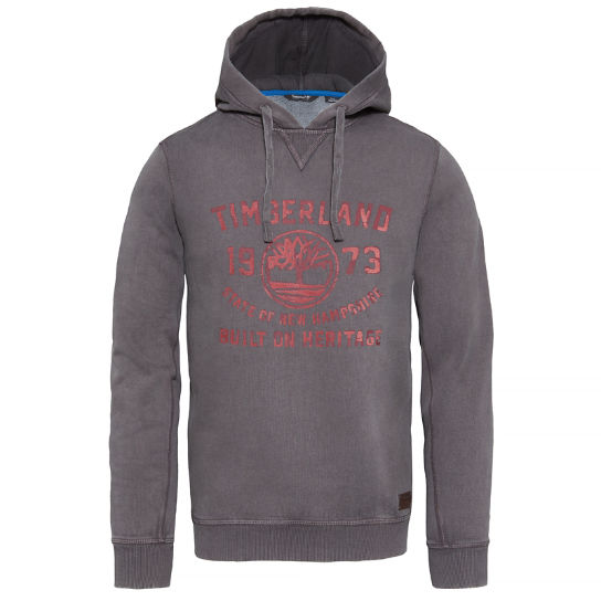 Fort Hill Hoodie Homme gris | Timberland