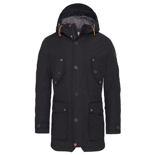 Fort Hill Winter Parka Zwart Heren | Timberland