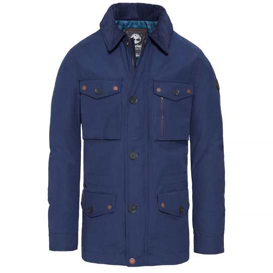 Men's Fort Hill Field Jacket Dark Blue | Timberland