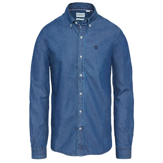 Fort Hill Chambray Shirt Homme bleu nuit | Timberland