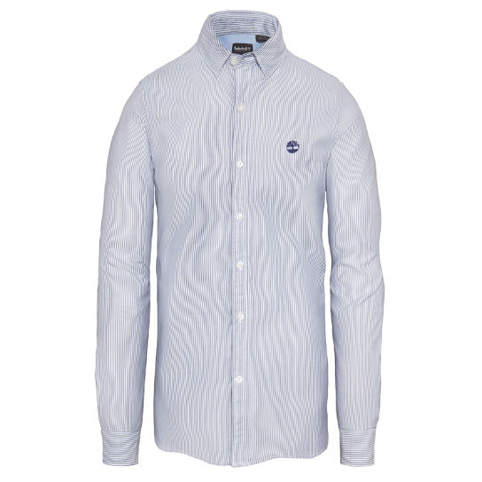 Milford Striped Oxford Shirt Homme Bleu marine | Timberland