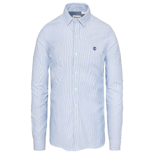 Herren Milford Striped Oxford Shirt Blau | Timberland