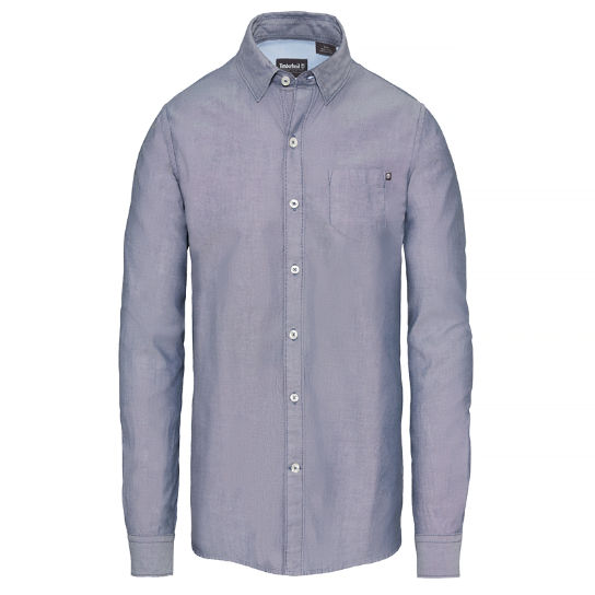 Herren Wellfleet Oxford Shirt Marineblau | Timberland