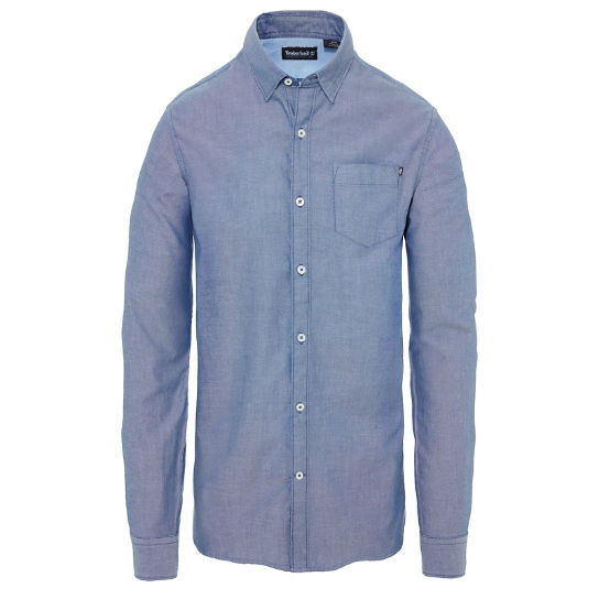 Wellfleet Oxford Shirt Heren Marineblauw | Timberland